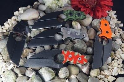 Midgards-Messer Sleipnir Griff und Farbe frei wählbar