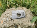 Kreditkartenmesser aus Gedrucktem Stahl (Rostfrei)!Limitiert auf 10 Stück