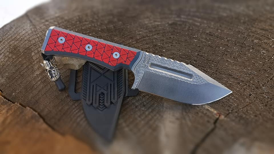 Midgards knife MM3D the first knife made of printed hardened steel