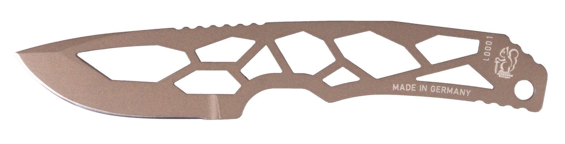 Eickhorn Midgards-Messer Sif Ultralight Farbe Berylium plus extra Scheide aus TPU zusätzlich zur Kydexscheide