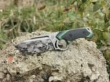 Midgards-Messer Munin mit Custom Laserung und Glow/Carbone Griffschalen